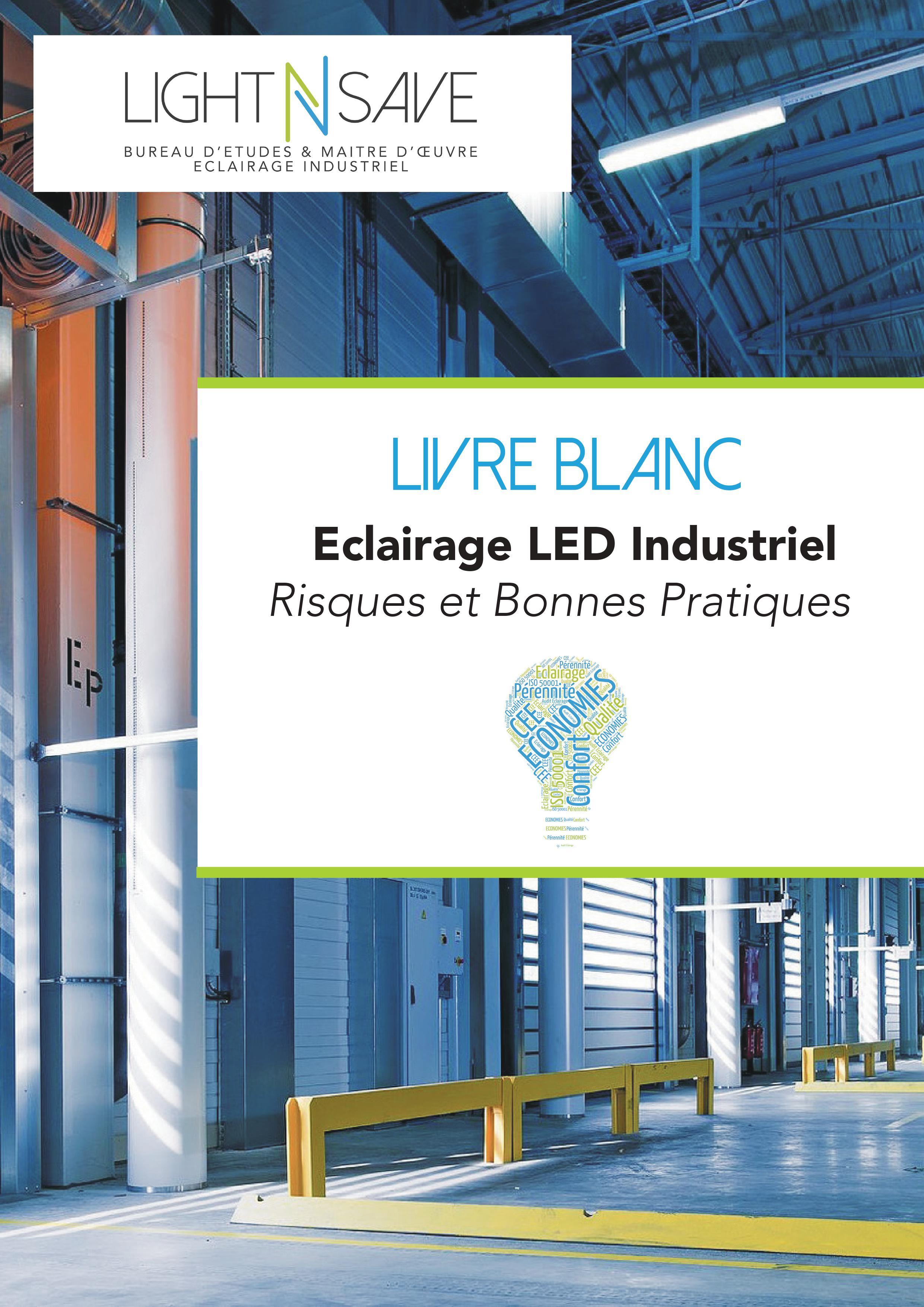 Page Garde Livre Blanc Eclairage Industriel